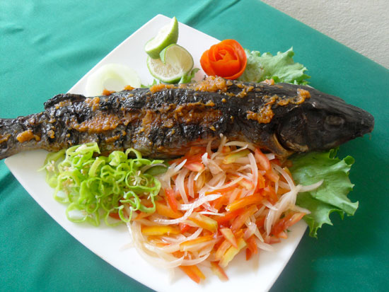 Maquis duval nos spcialts for Abidjan net cuisine africaine